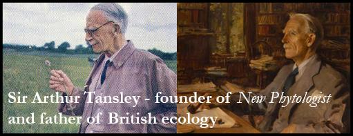 Arthur Tansley banner