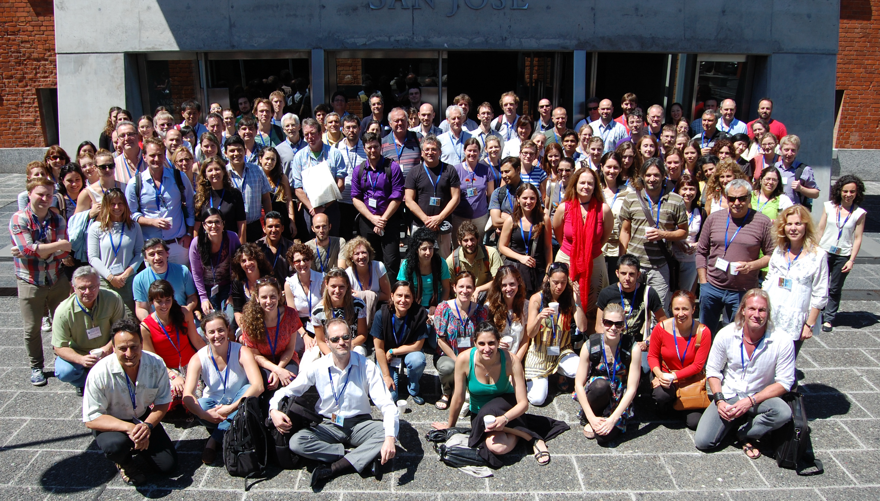 Group photo of delegates of the 32nd New Phytologist Symposium
