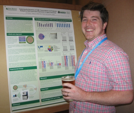 Paul Abraham - poster prize runner-up - 34th New Phytologist Symposium: Systems biology & ecology of CAM plants