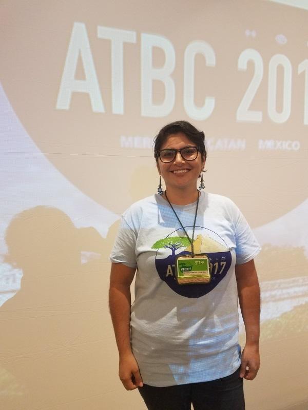 Image: ATBC 2017 New Phytologist poster prize winner, Diana de la Cruz