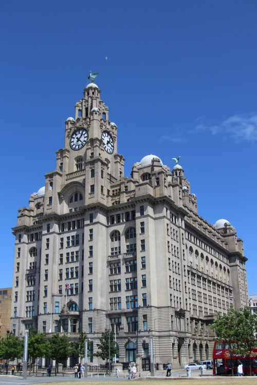 Royal Liver Building, Liverpool. Courtesy of Shane Rothwell.