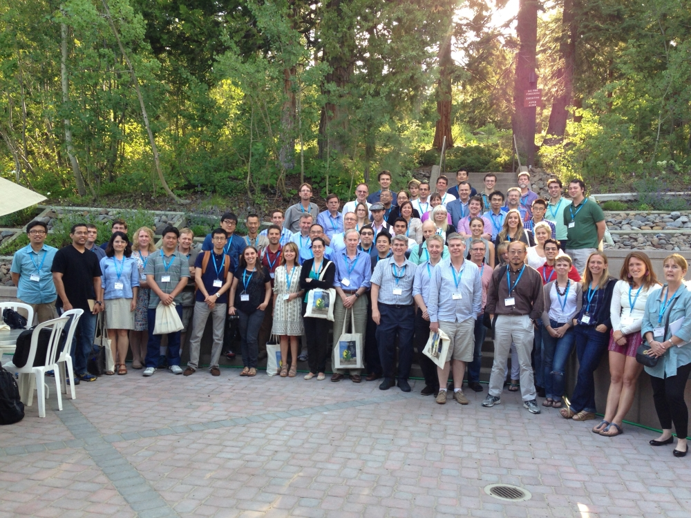 34th New Phytologist Symposium. Systems biology and ecology of CAM plants. Delegation group photo