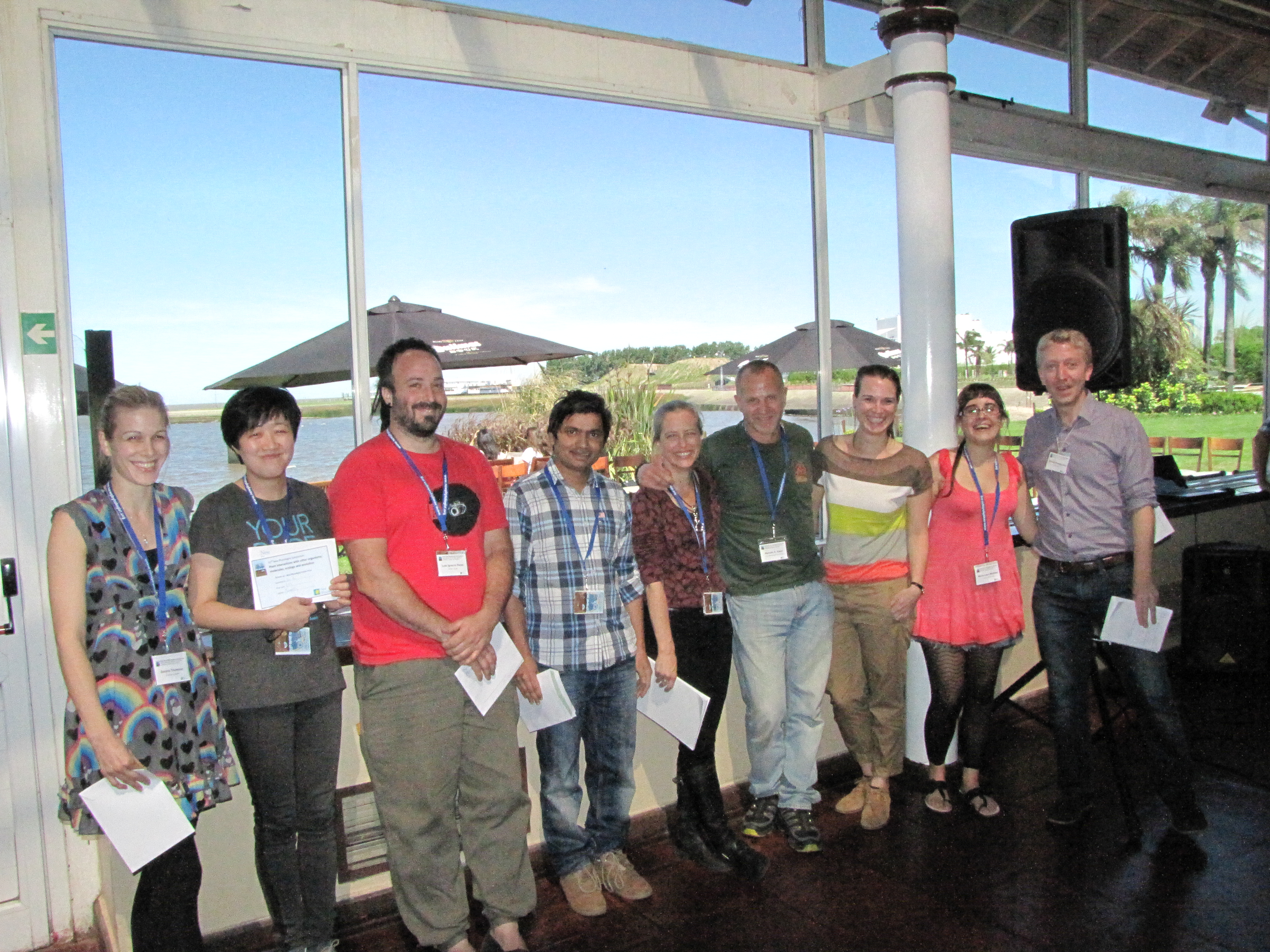 32nd New Phytologist Symposium student poster prize winners