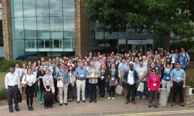 New Phytologist next generation scientists group photo