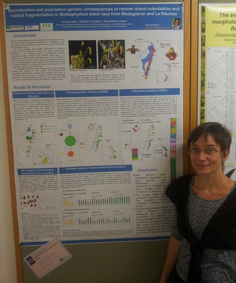 Ursula Jaros, poster prize runner-up