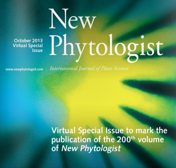 Front cover of Virtual Special Issue to mark the 200th volume of New Phytologist