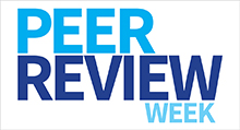 Peer Review Week logo